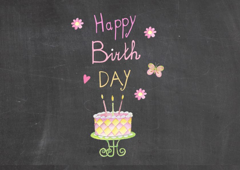 verjaardag taartje vijf jaar 2