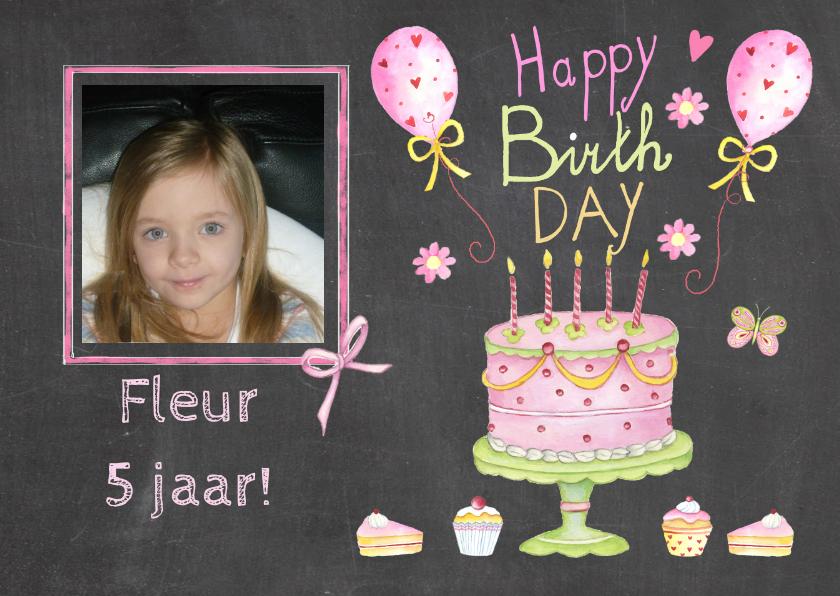 verjaardag taartje vijf jaar 1