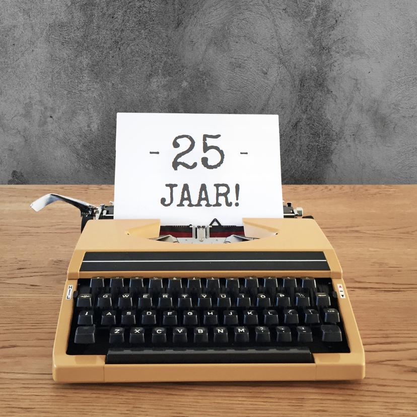 Verjaardag -Typemachine leeftijd 1