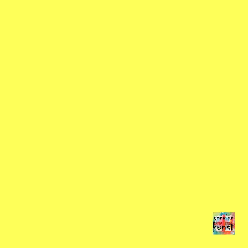 Verjaardag yellow sunshine IW 3