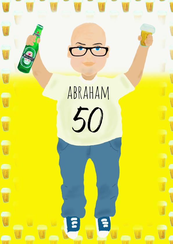 Verjaardagskaart Abraham PA 1