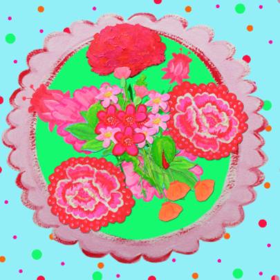 Verjaardagskaart Confetti PA 2