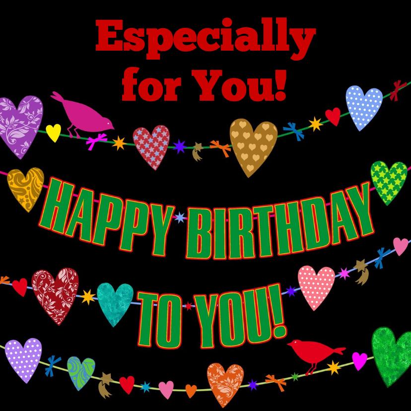 Verjaardagskaart for You!  - HE 1