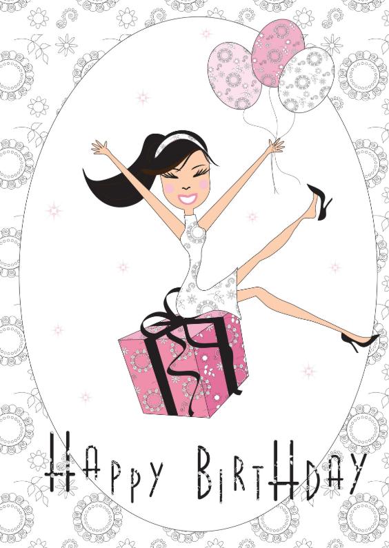 Verjaardagskaart LB43 1