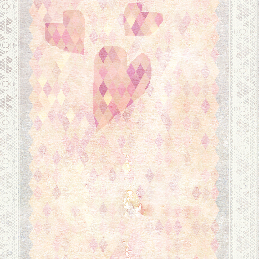 Verjaardagskaart, lente bloesem  2