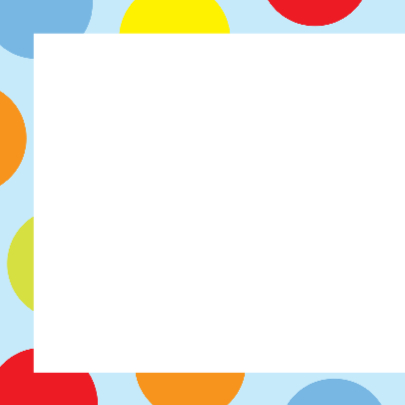 Verjaardagskaart met kleurige dots 2