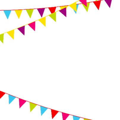 Verjaardagskaart met vlaggen 65 jaar 2