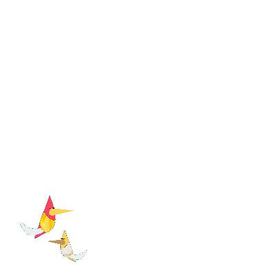 Verjaardagskaart met vogels 2
