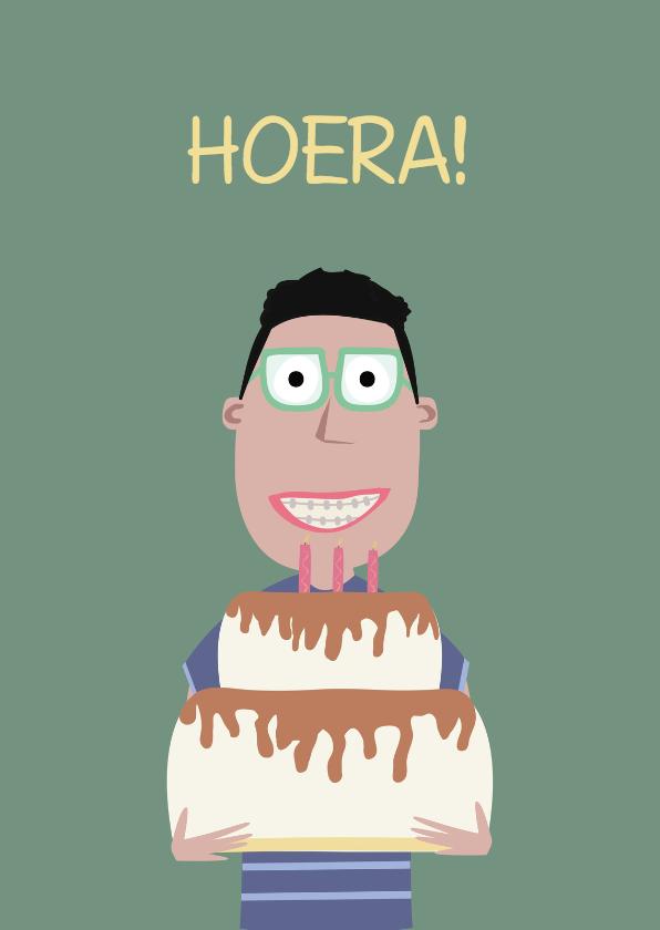Verjaardagskaart Nourdin! 1