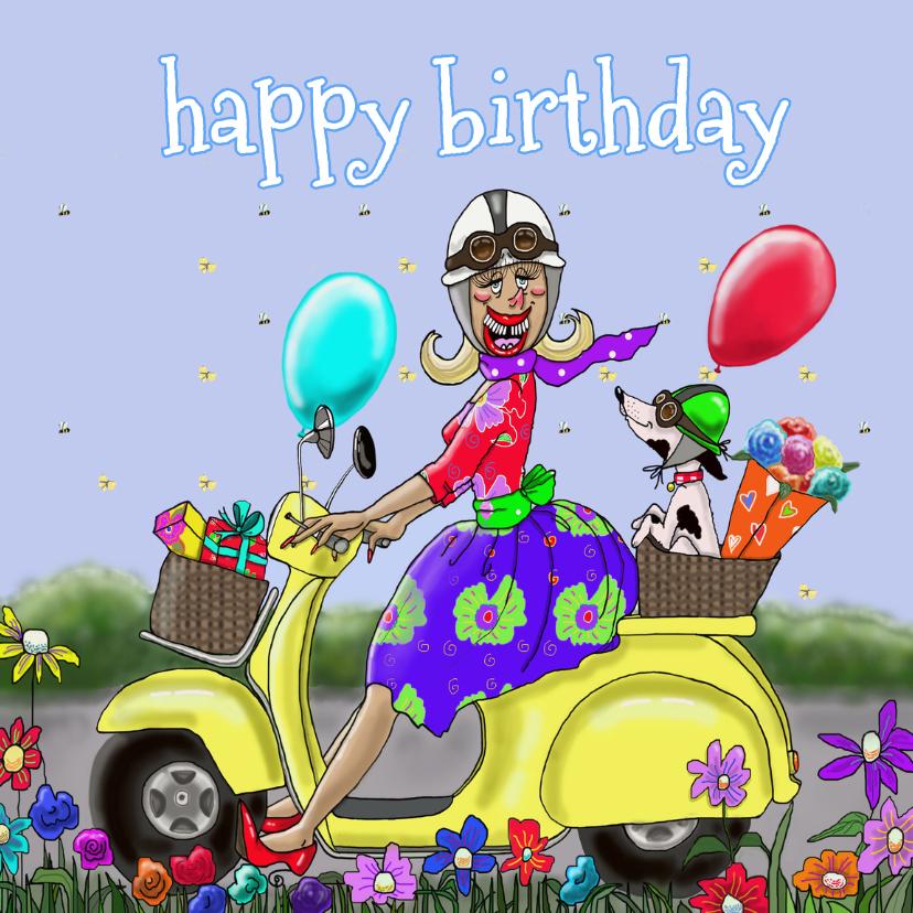 Verjaardagskaart Prachtige dag 1
