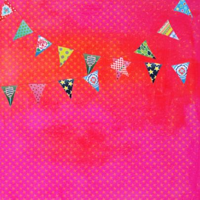 Verjaardagskaart Roze PA 2