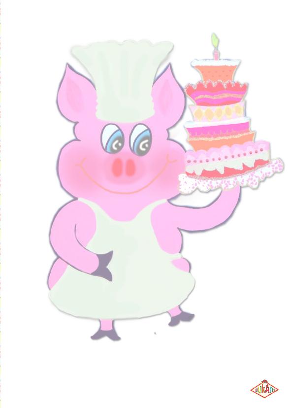 Verjaardagskaart Taart Tijd PA 3
