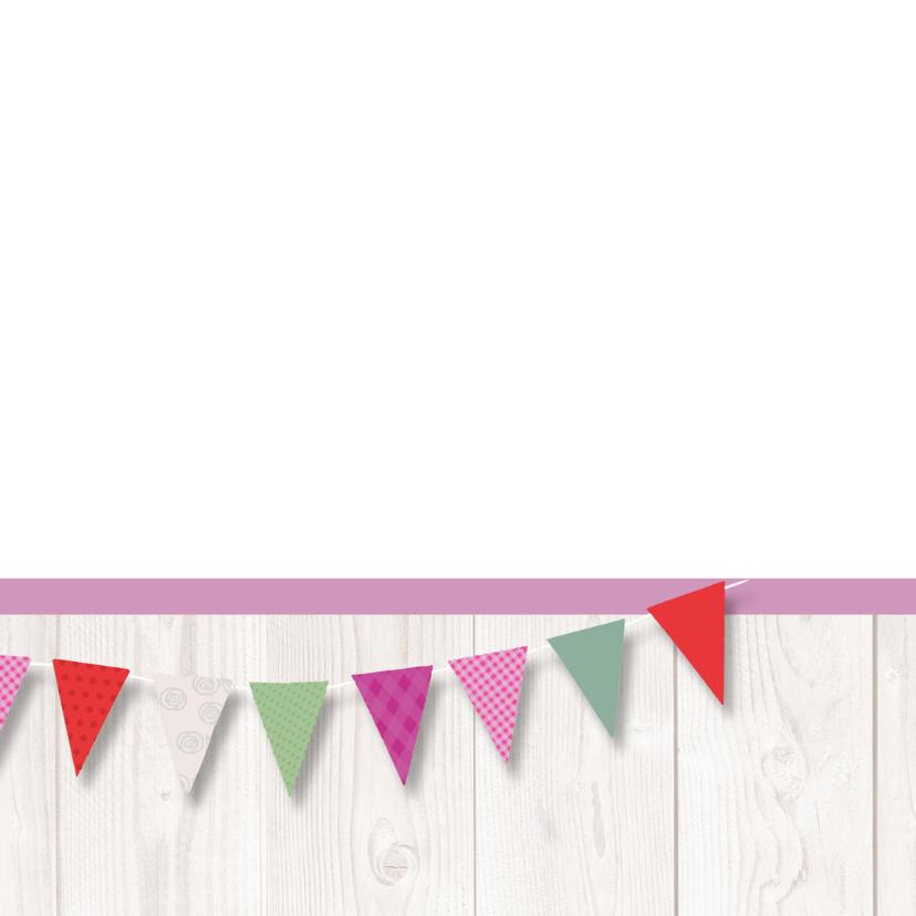 Verjaardagskaart tulpen vlag av 2