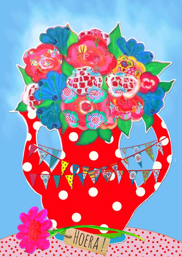 Verjaardagskaart Vlag PA 1