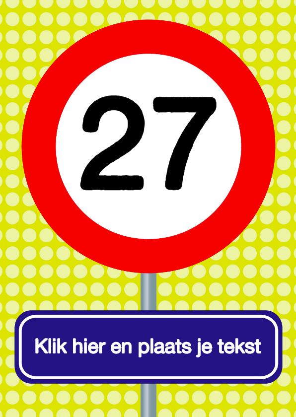 Verkeersbordkaart zelf wijzigen 1