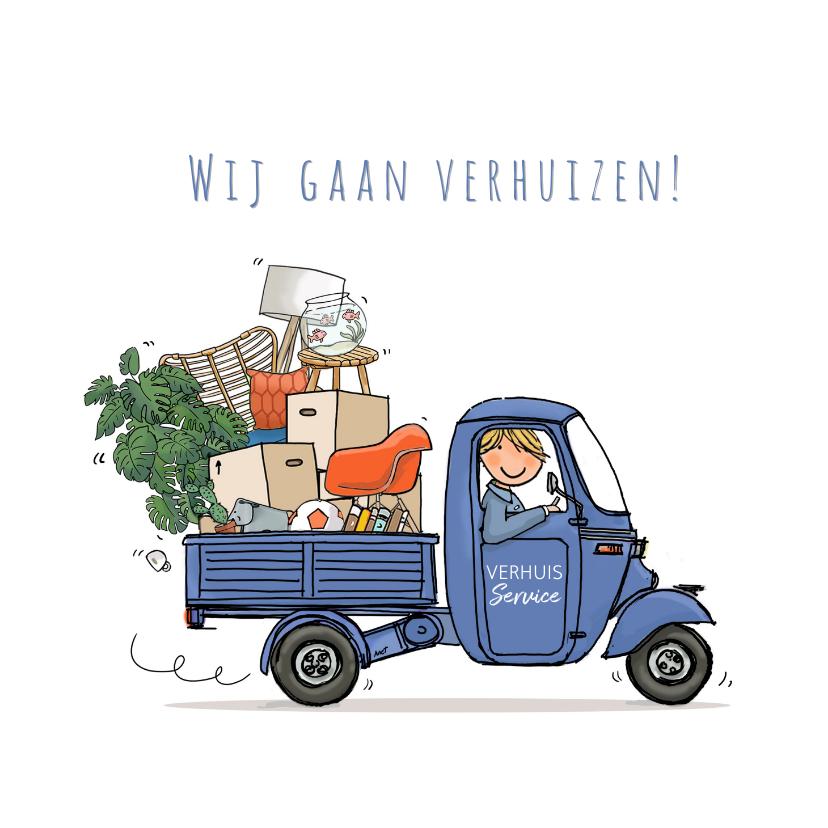 Vespa Ape verhuisauto 1