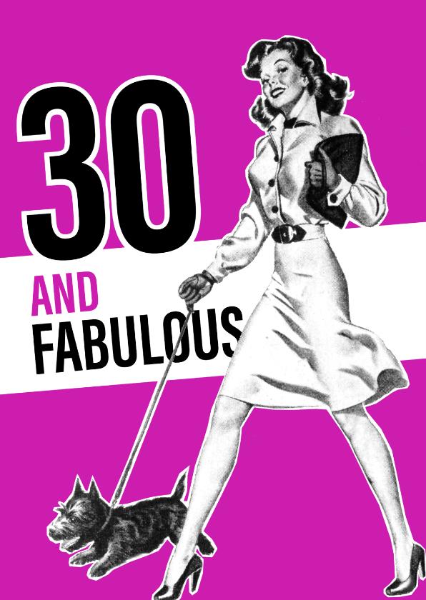 Vintage 30 vrouw 1