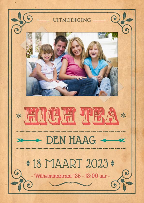 Vintage poster High Tea 1LS3 1