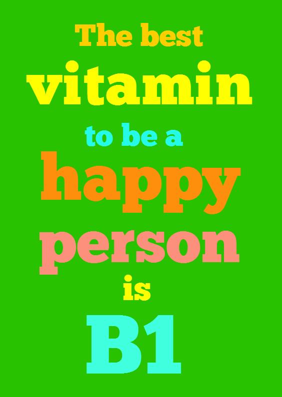 Vitamine B1 1