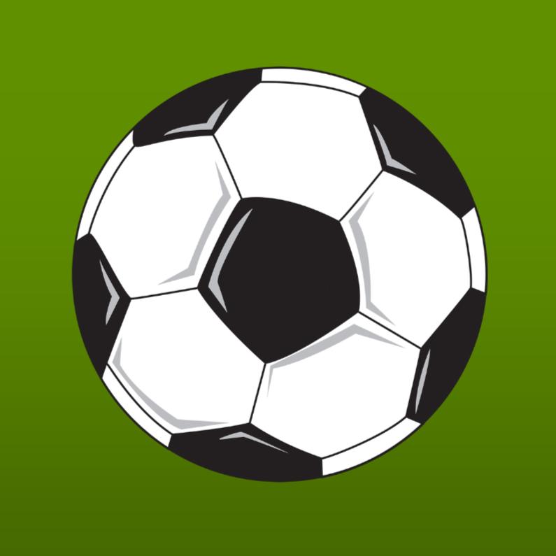 Voetbal groen 1