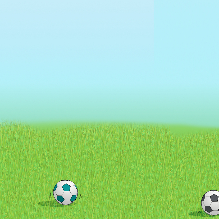 Voetbal kaart Anet Illustraties 2