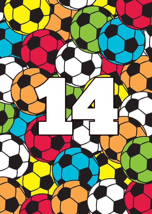 Voetbal kleur 1