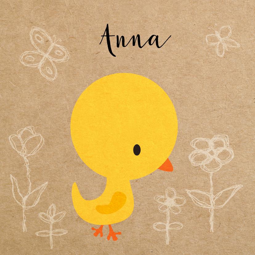Vogeltje geel meisje 1