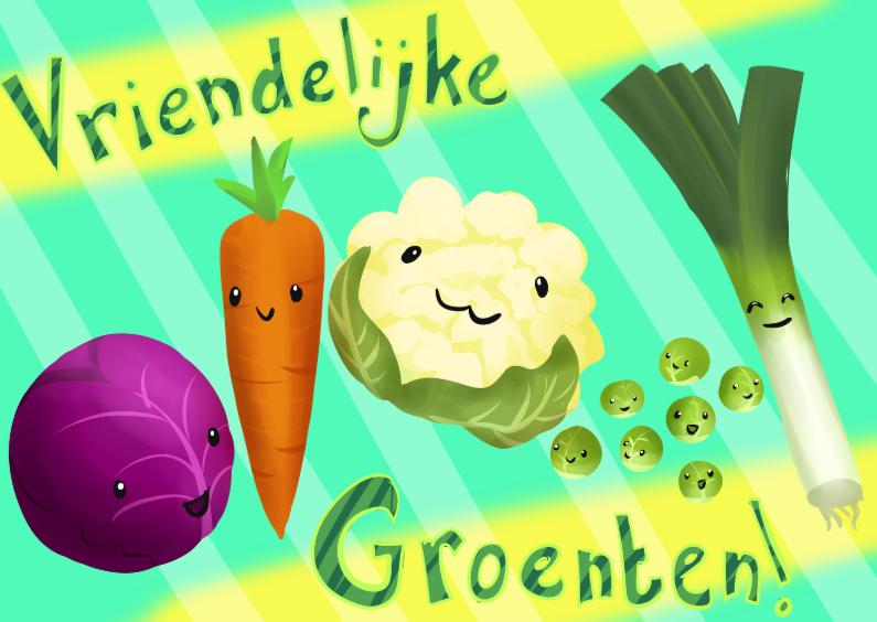 Vriendelijke Groenten 1