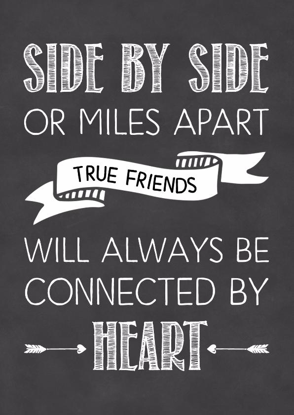 Vriendschapkaart True friends 1