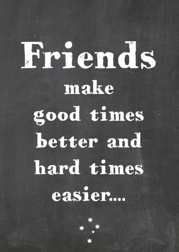 Vriendschapskaart Good times 1