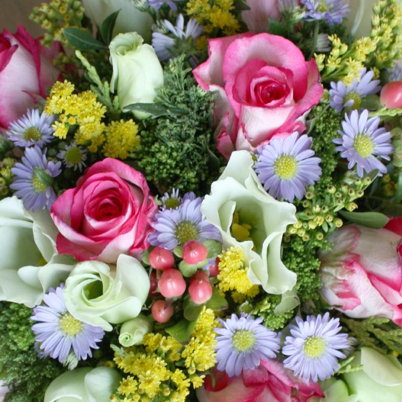 Vrolijk boeket bloemen 1