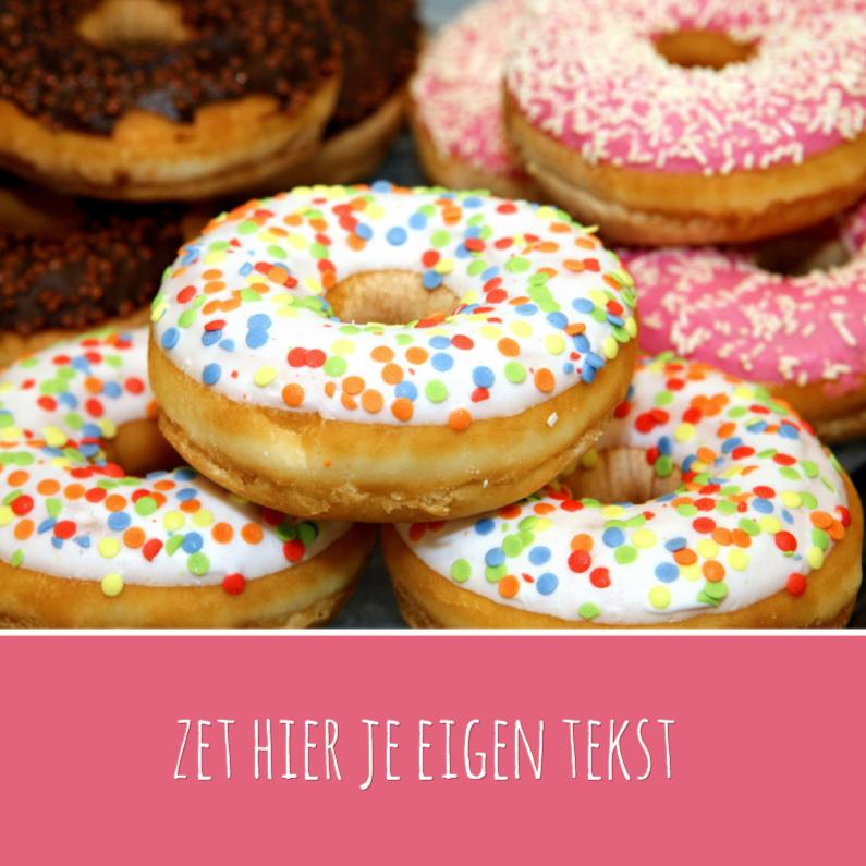 Vrolijke Donuts  1