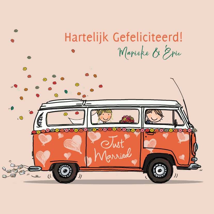 VW bus hartjes Anet Illustraties 1