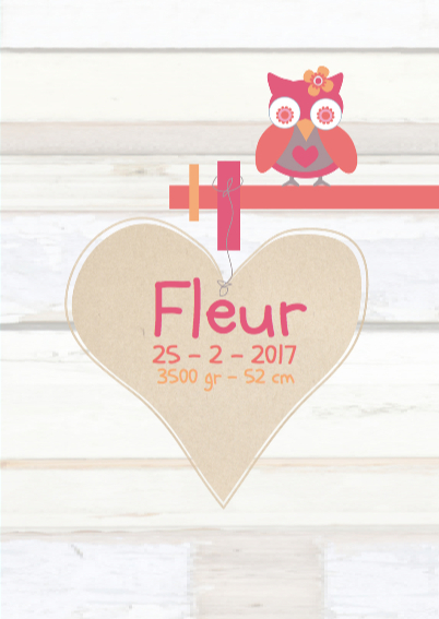 Wegwijzer boom kaartje Fleur 3