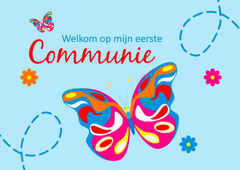 Welkom op mijn eerste communie 3 1