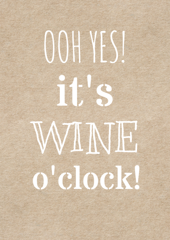 wine o'clock uitnodiging 1