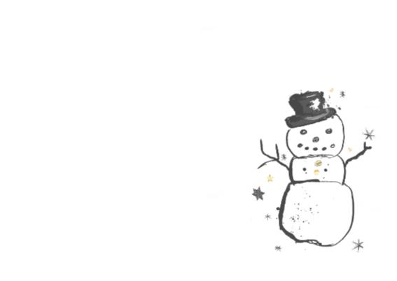 WInterkaart winter groetjes 2
