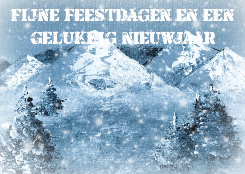 winterlandschap fijne feestdagen 1