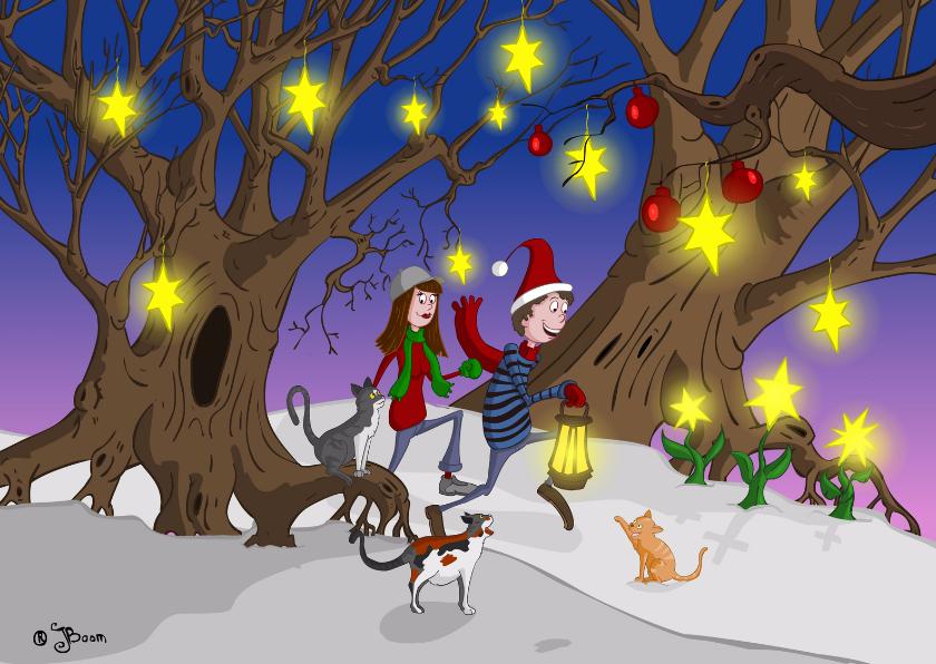 Wonderlijk kerstlandschap 1