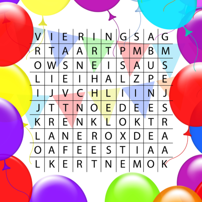 woordzoeker verjaardag 1