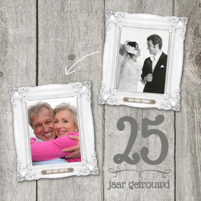 XX  jaar getrouwd jubileumkaart 1