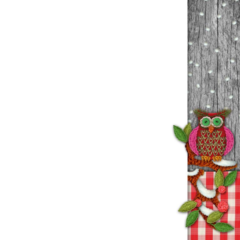 YVON algemeen kerst uil sneeuw hip 3