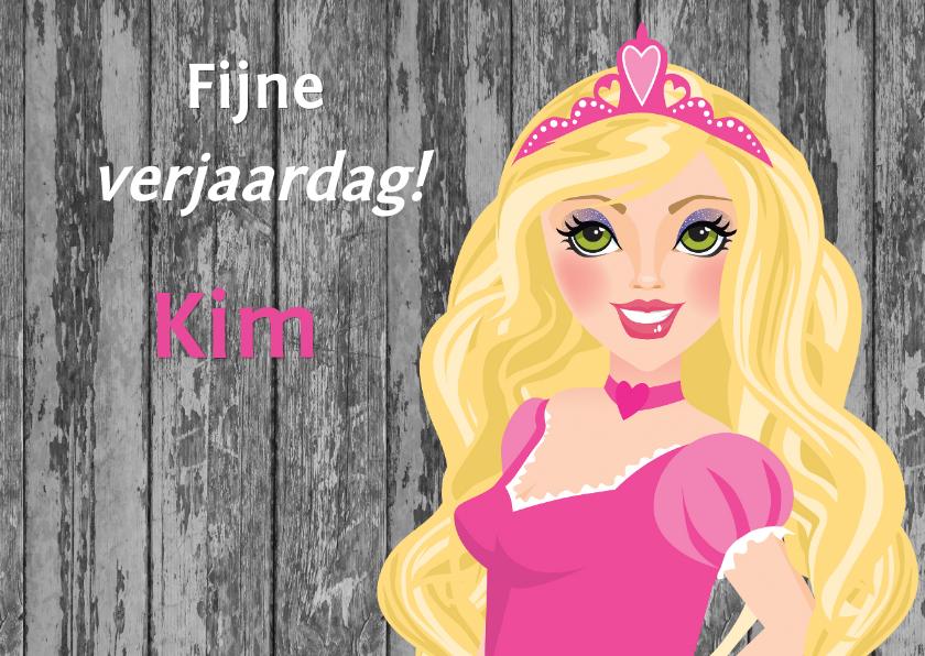 YVON barbie prinses fijne verjaardag 1