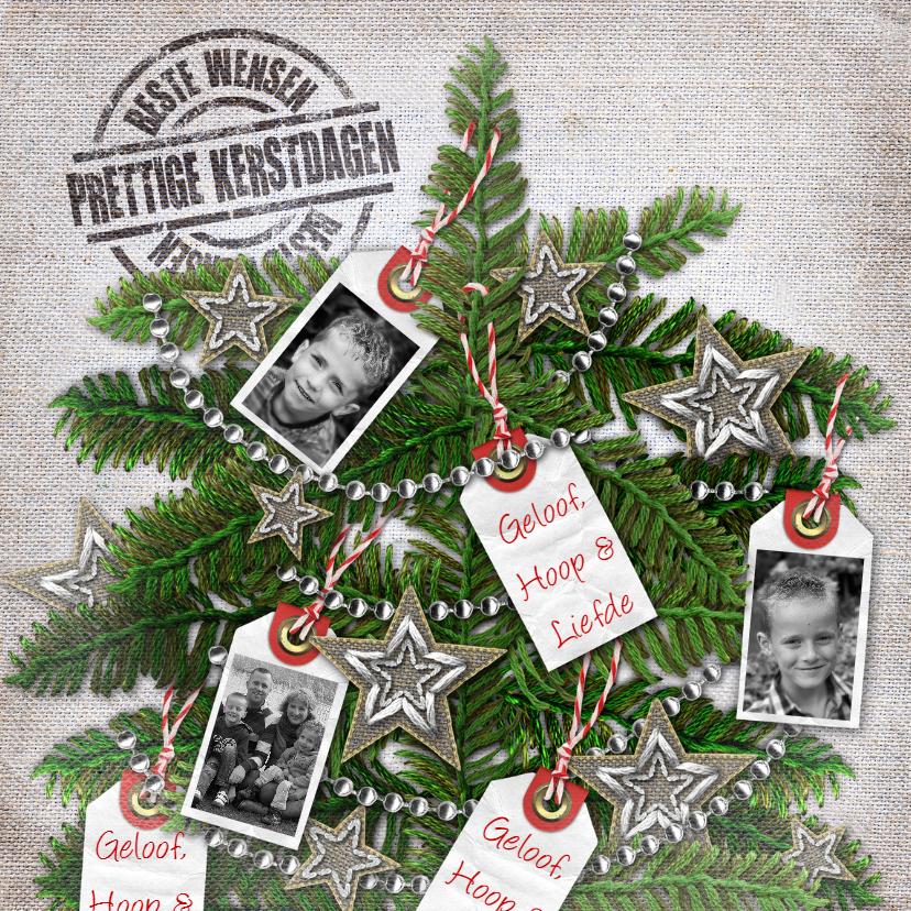 YVON geloof hoop en Liefde kerstboom vk 1