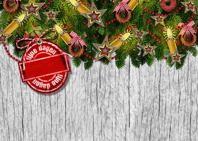 YVON kader kersttakken li 2