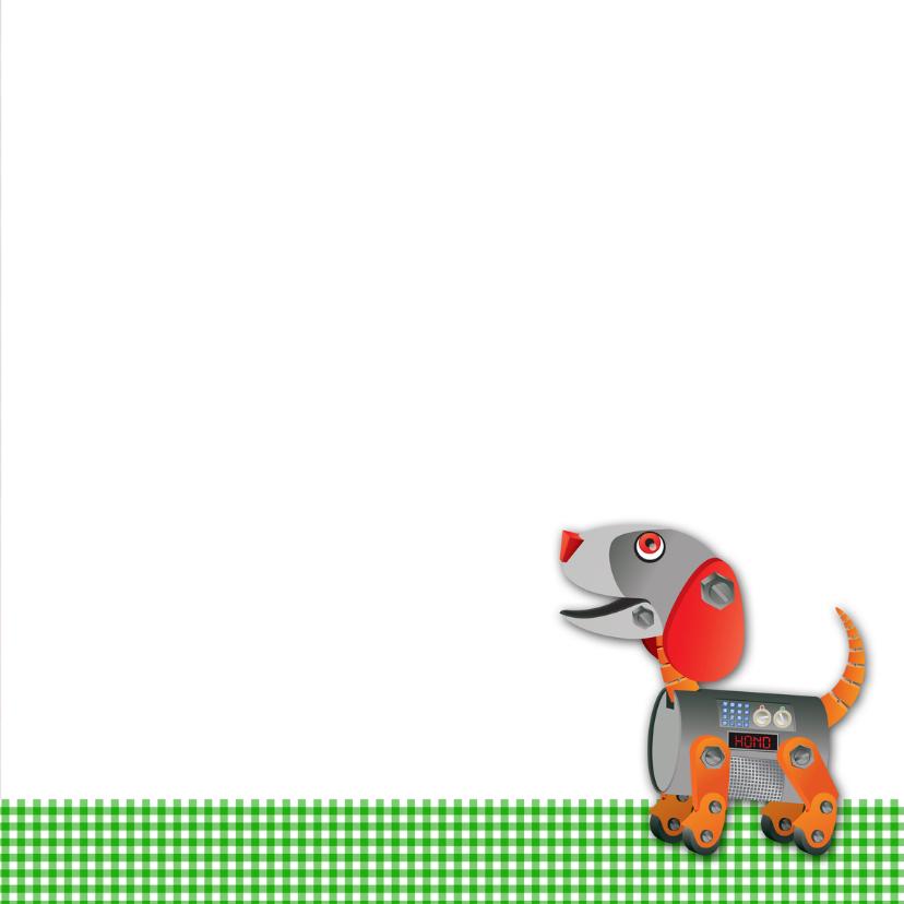 YVON robot groen ruit beterschap 3