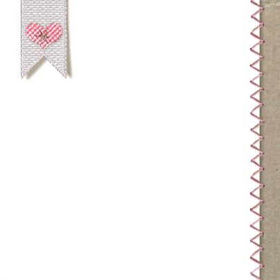 YVON stof patroon stiksel roze 3