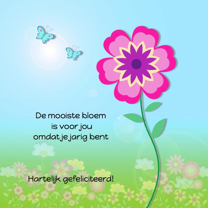 Zeg het met bloemen en vlinders 1