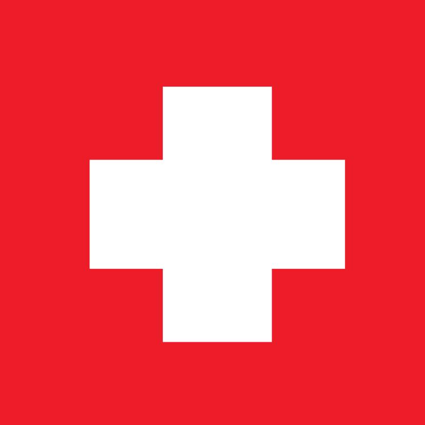 Ziek wit kruis dubbel 1