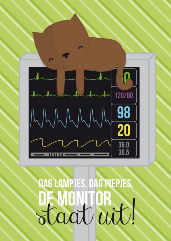 Ziekenhuis - Poes Monitor 1